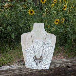 Bohemian Bronze Simple Necklace